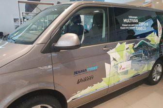 Тестирование шин Viatti на Volkswagen Multivan продлится шесть месяцев