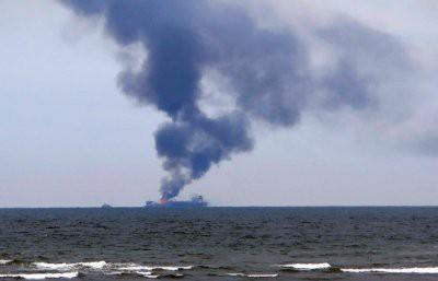 Пожар на судах в Керченском проливе: 11 погибших