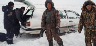 В Карагандинской области спасли четырех заблудившихся рыбаков