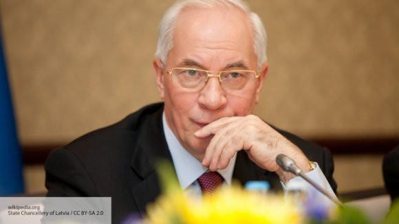 Азаров заявил о превращении Украины «в сырьевой придаток»
