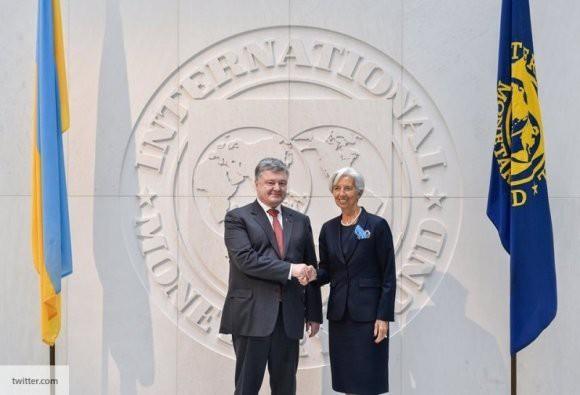 Глава МВФ поторопила Порошенко с проведением экономических реформ