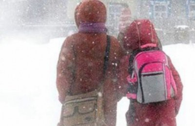 При какой температуре власти отменяют занятия в школах