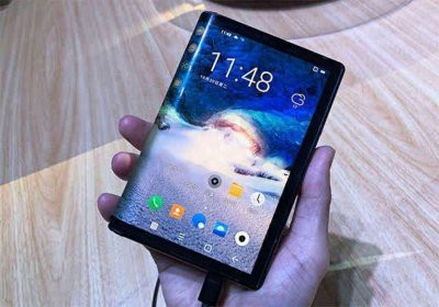 Компания Xiaomi показала гибкий смартфон