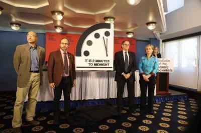 Часы Судного дня по-прежнему показывают без двух минут полночь