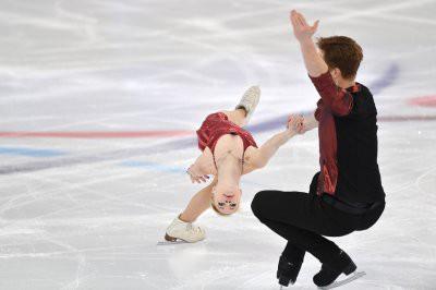 Фигуристы Тарасова и Морозов завоевали серебро на ЧЕ в Минске