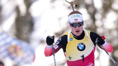Йоханнес Бё выиграл спринт на 6 этапе Кубка мира по биатлону в Антерсельве