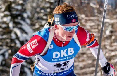 Йоханнес Бе выиграл гонку преследования в Антхольц-Антерсельве