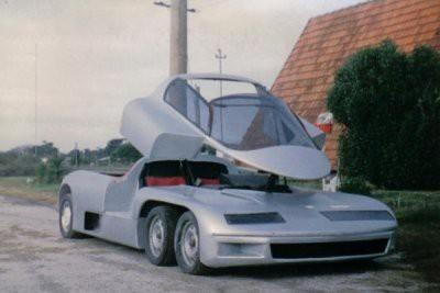 В Аргентине показали уникальный суперкар Donatini MB 8