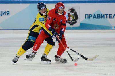 Чемпионат мира по хоккею с мячом 2019: Россия обыграла Казахстан со счетом 22:1