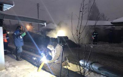 В Барнауле из-за аварии без отопления и горячей воды остались более 220 домов
