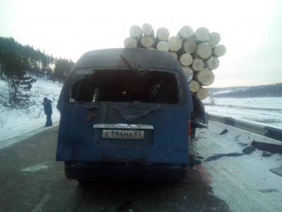 Четыре человека погибли в ДТП с маршруткой в Иркутской области