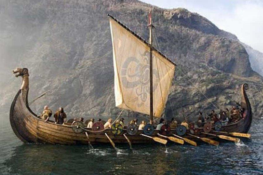 В Норвегии археологи обнаружили корабль древних викингов