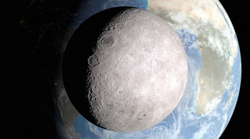 Первое фото обратной стороны Луны появились в интернете