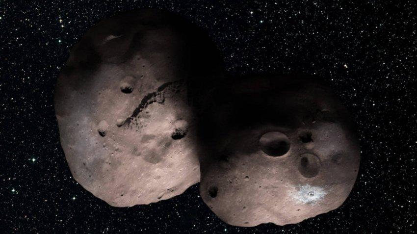 За Плутоном найден неизвестный объект в виде снеговика