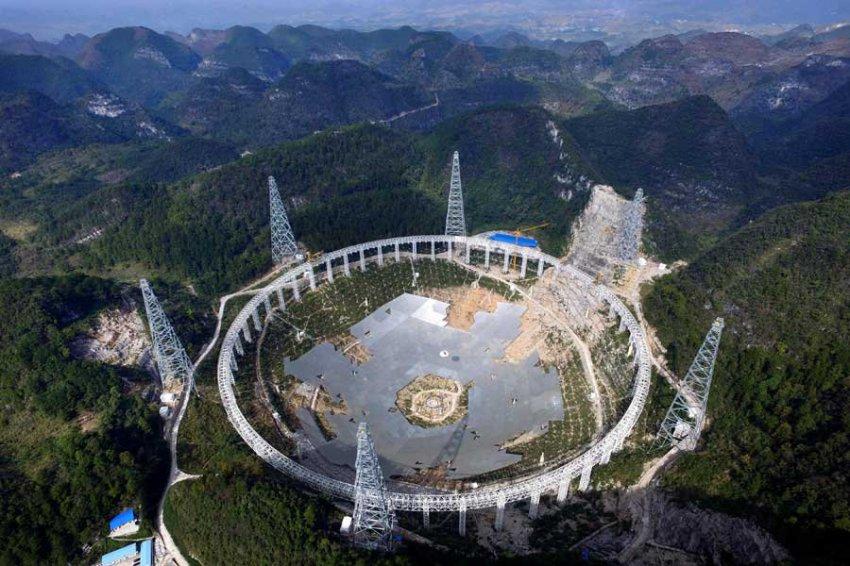 Китайский телескоп FAST поймал странные сигналы из космоса
