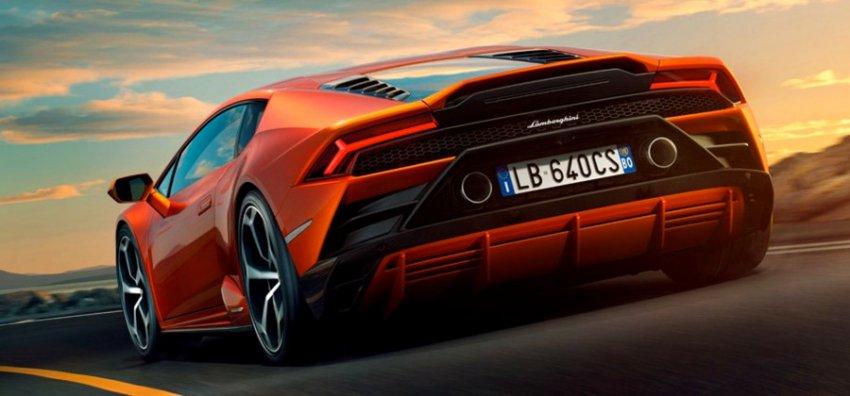 Lamborghini Huracan EVO: инженеры смогли поместить 640 лошадей в элегантную упаковку