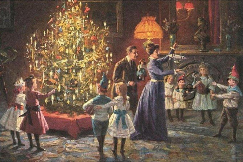 Как отмечали Рождество в России до революции 1917 года