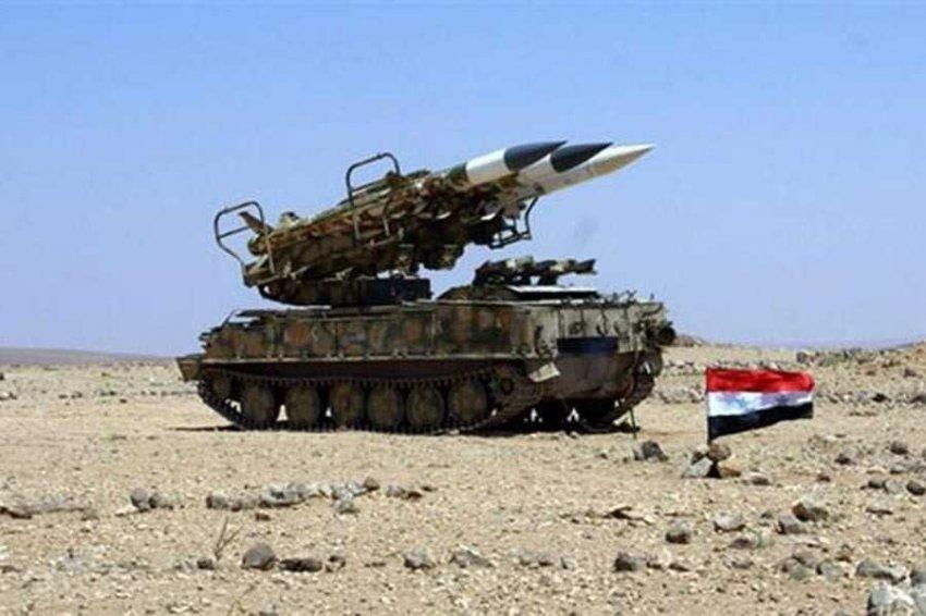Сирийские ПВО отразили ракетные атаки Израиля