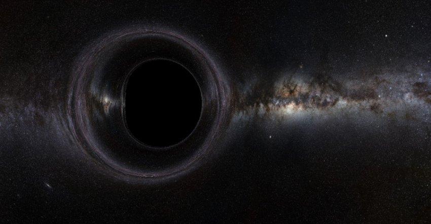 Найдена самая большая и яркая черная дыра во Вселенной