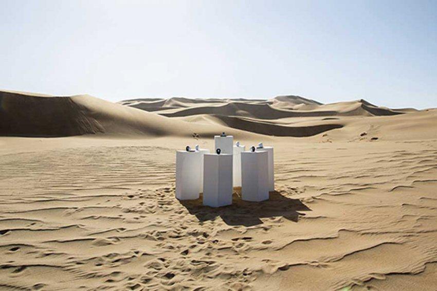 В Намибии установили колонки для вечного проигрывания одной песни