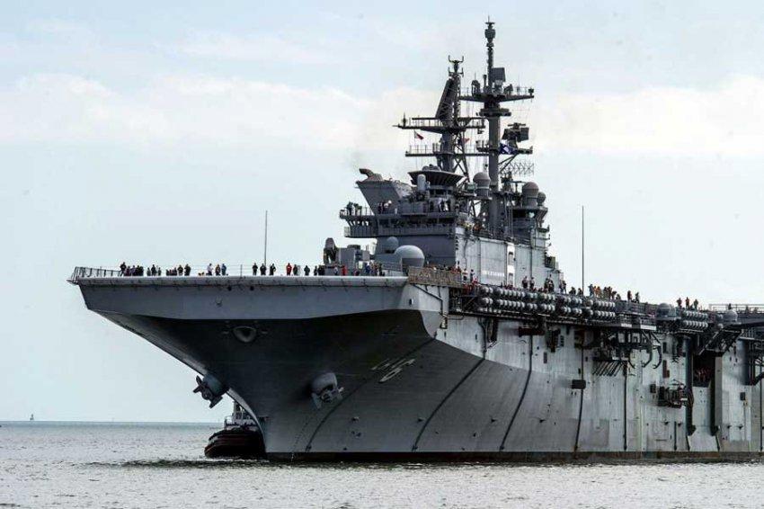 Ученые разработали лечебный спрей для боевых кораблей