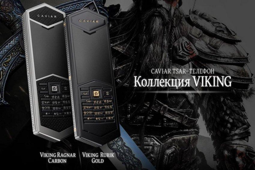 В мировую продажу поступил новый люксовый Tsar-телефон, посвященный первому князю Руси — Рюрику