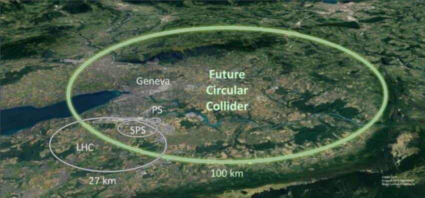 Физики создадут еще более мощный атомный ускоритель в ЦЕРНе
