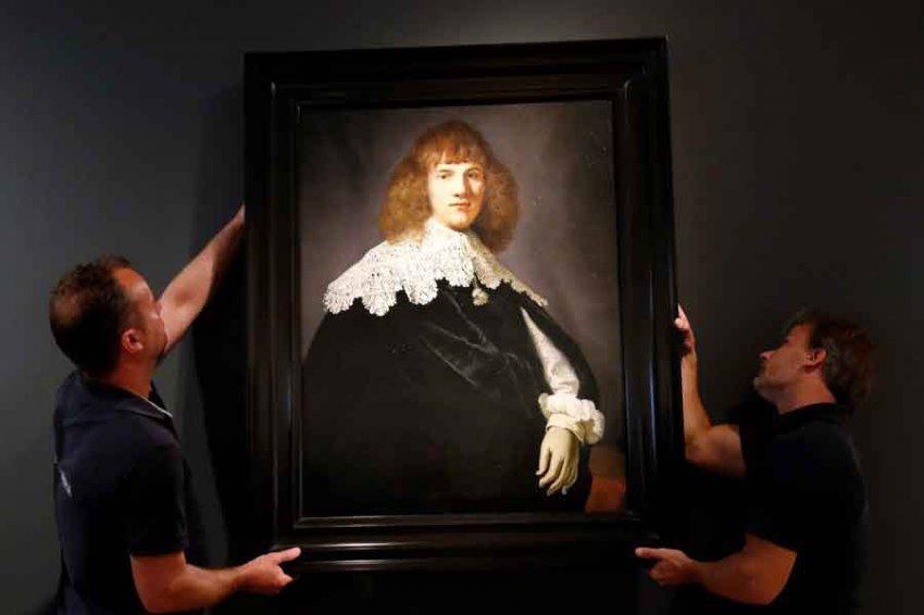 Назван секретный компонент красок художника Рембрандта