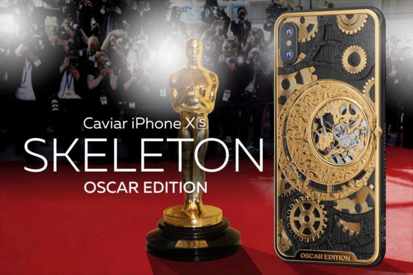 Обладатель Оскара 2019, который скажет самую лучшую речь на церемонии, получит драгоценный iPhone-скелетон из РФ