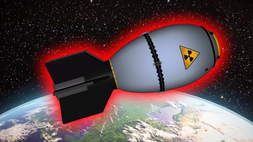 Что будет, если взорвать Царь-бомбу в космосе?