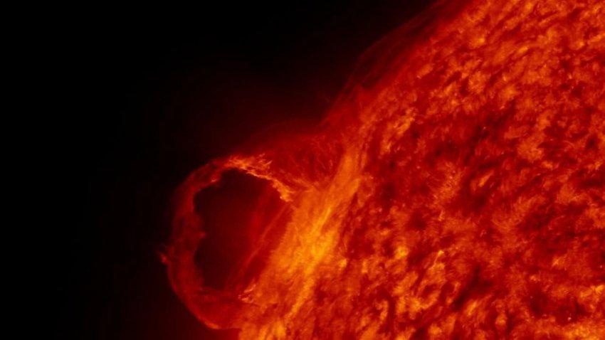 Найдена новая опасность Солнца для человека