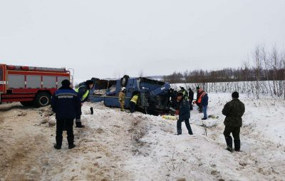 ДТП с автобусом в Калужской области сегодня: 4 человека погибли, 32 пострадали