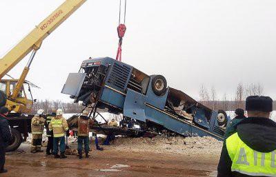 Владелец попавшего в аварию под Калугой автобуса задержан
