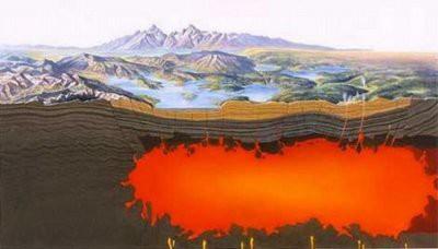 Извержение Йеллоустонского вулкана уничтожит Северную Америку
