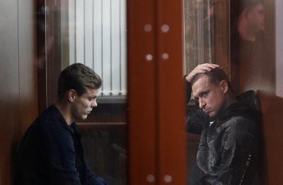 В Москве проходит заседание по делу Кокорина и Мамаева