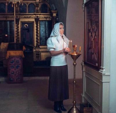 Дана Борисова обратилась за помощью к Богу