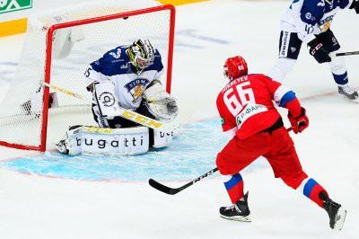 Хоккей: сборная России обыграла Финляндию в первом матче шведского этапа Евротура