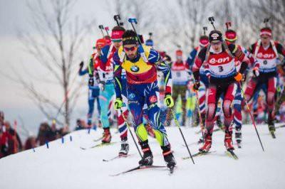 Биатлон: Мужская сборная России завоевала бронзу ЧМ в эстафете