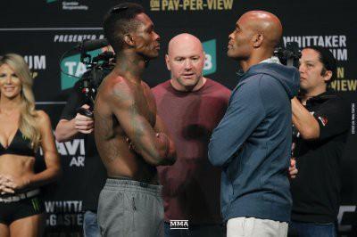 В Австралии состоялся турнир по смешанным единоборствам UFC 234