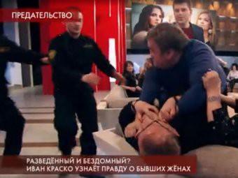 Эфир «Пусть говорят» о женах Ивана Краско завершился массовой дракой