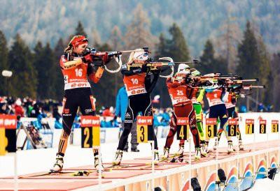 В Солт-Лейк-Сити продолжается 8 этап Кубка мира по биатлону