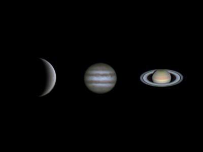 18 февраля в Москве можно будет наблюдать сближение Венеры и Сатурна