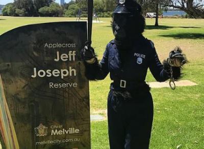 В Австралии «женщина-горилла» поймала эксгибициониста