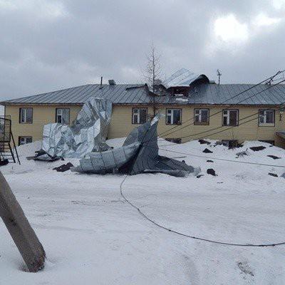 В Ставрополье из-за ураганного ветра введен режим ЧС