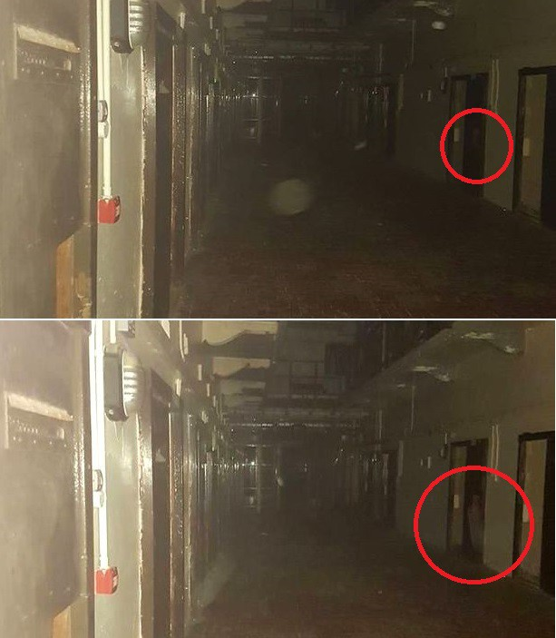 В заброшенной тюрьме туристка засняла призрак охранника