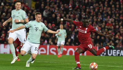 «Ливерпуль» - «Бавария» и «Лион» - «Барселона» не забили голов в первых матчах 1/8 финала Лиги Чемпионов