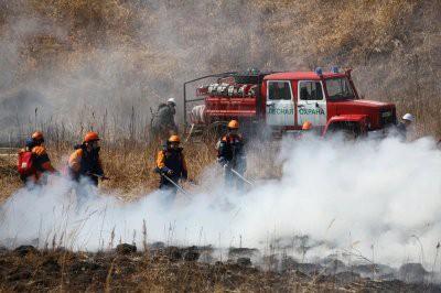 В Хабаровском крае аномально рано начались лесные пожары