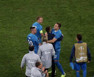 «Зенит» обыграл «Фенербахче» и вышел в 1/8 финала Лиги Европы