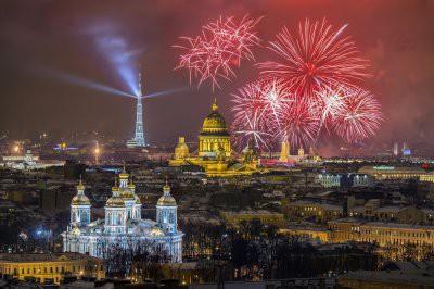 23 февраля в Санкт-Петербурге закончится грандиозным салютом