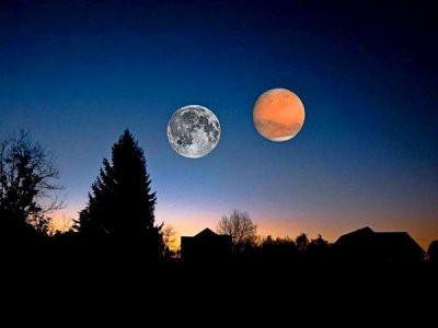 Луна устроит «небесный спектакль» перед восходом Солнца